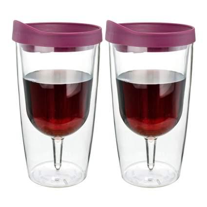 red wine tumbler