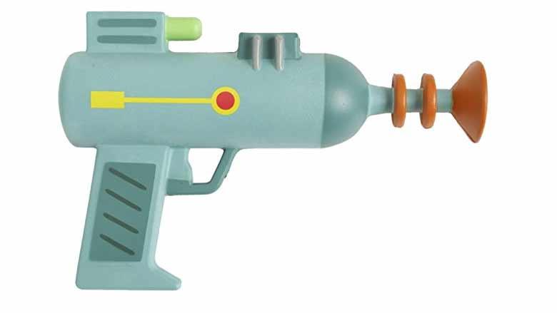 rick and morty laser gun