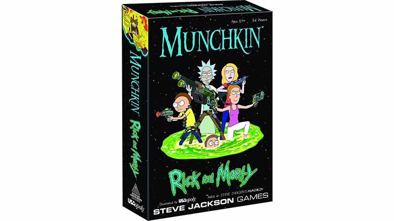 rick and morty munchkin