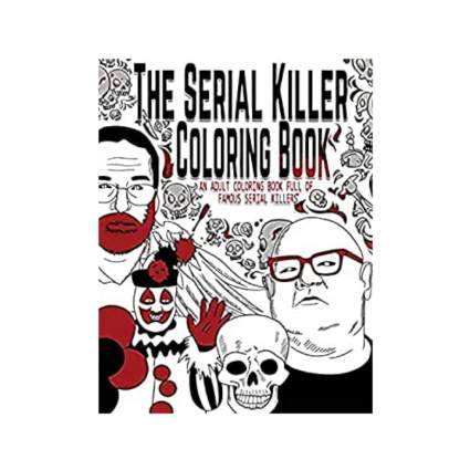 serial killer coloring book