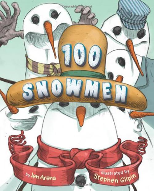 100 Snowmen book