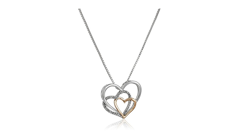 amazon cyber monday, cyber monday deals, best cyber monday deals, cyber monday sales, cheap jewelry, jewelry sales, women's jewelry, heart necklace, diamond heart necklace