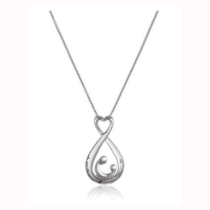 Sterling silver mother's love pendant