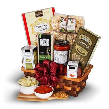 table in tuscany gift basket
