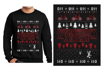 stranger things gifts. stranger things shirt, stranger things christmas sweater, strangers things t shirt