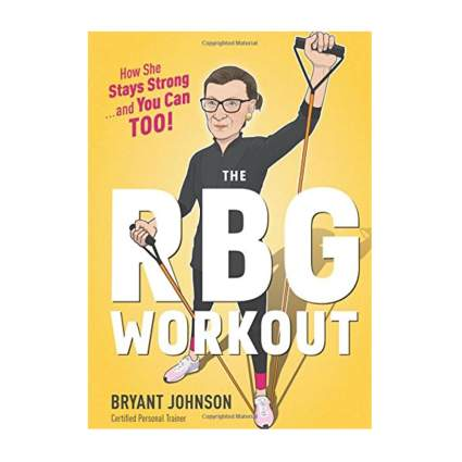 ruth bader ginsburg's workout instruction book