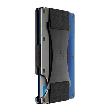 titanium narrow profile rfid blocking wallet