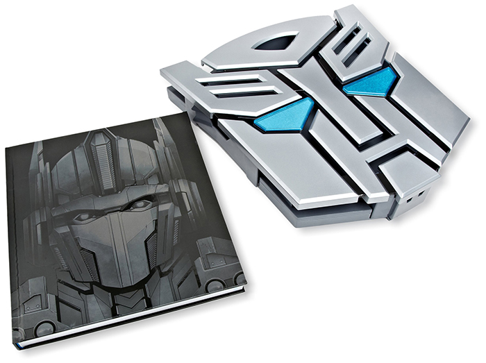 Transformers collectible book