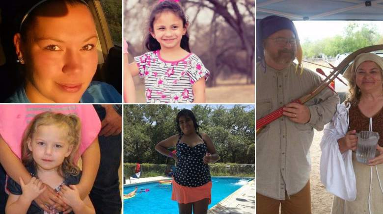 sutherland springs victims, texas church shooting victims