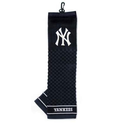 yankees golf towels
