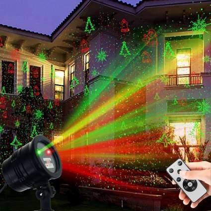 yinuo christmas laser lights