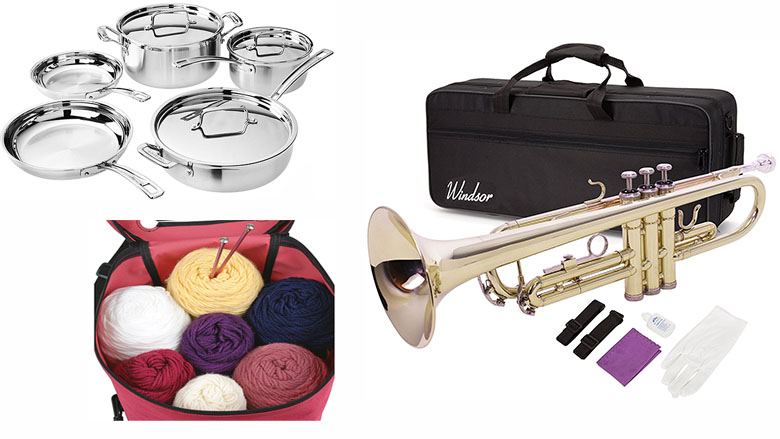 gifts for crafters, gifts for music lovers, gifts for artists, gifts for creative people, gifts for chefs, amazon deals, amazon offers, amazon sales