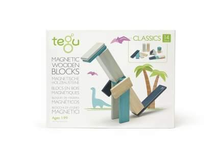 14 Piece Tegu Magnetic Wooden Block Set