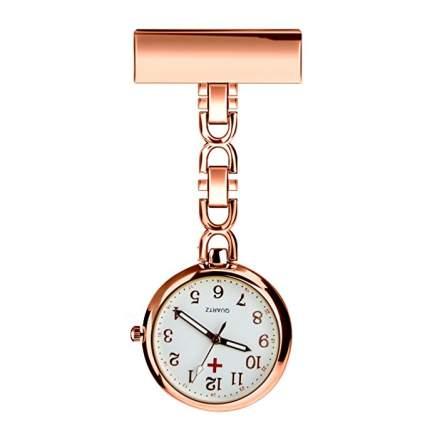 WIOR Nurse Lapel Pin Watch