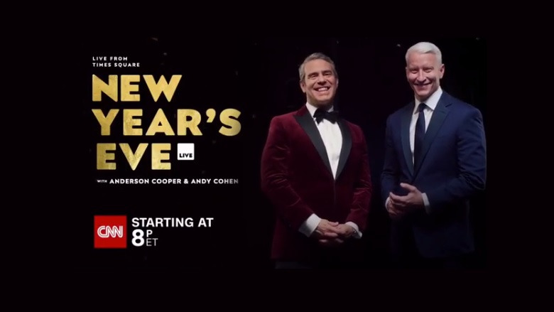 Anderson Cooper, Anderson Cooper New Year's Eve, Anderson Cooper New Year's Eve Live Streaming, CNN New Year's Eve, CNN New Year's Eve Streaming, Watch CNN Online, Watch Anderson Cooper New Year's Eve Online