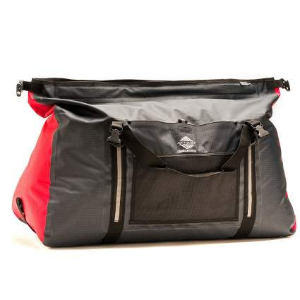 aqua quest, duffle bag, fishing bag, fishing trip