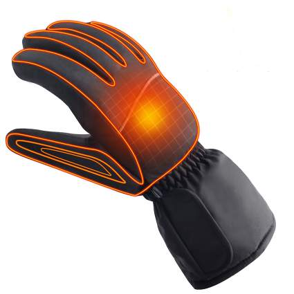 autocastle, heated gloves, winter gloves, battery gloves