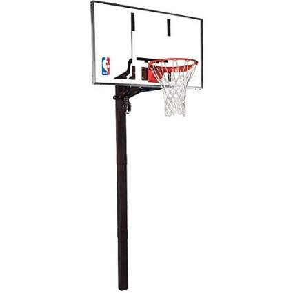 in ground basketball hoops