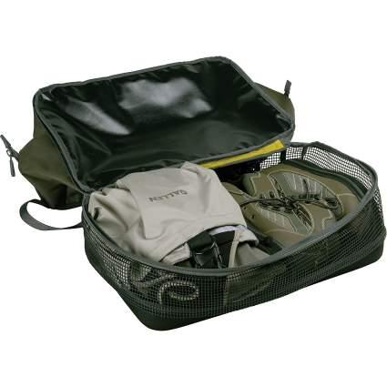 allen company, fishing bag, fishing duffel, wader bag, fishing trip