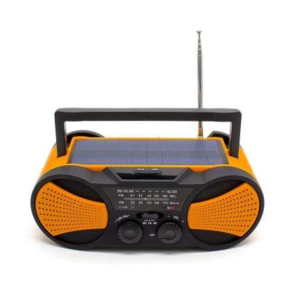 running snail, emergency radio, crank radio, solar radio