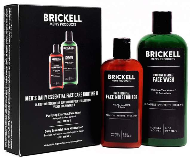 Brickell Men's Daily Essential Face Care Routine II