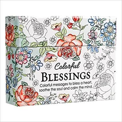 inspirational gifts, inspirational coloring cards