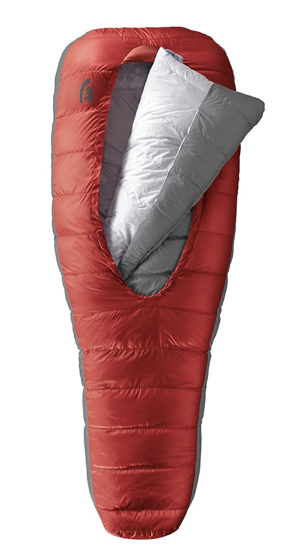 Sierra Designs, backpacking, sleeping bag, hiking sleeping bag