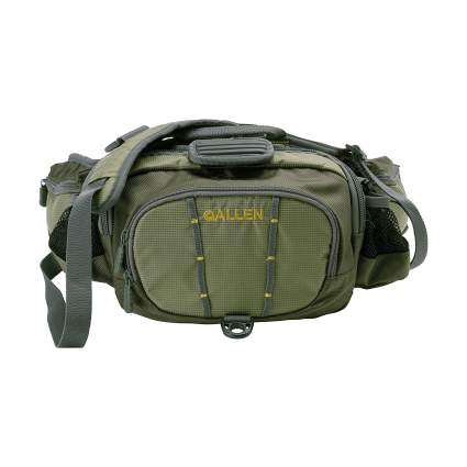 allen company, fishing pack, fishing trip, fishing bag
