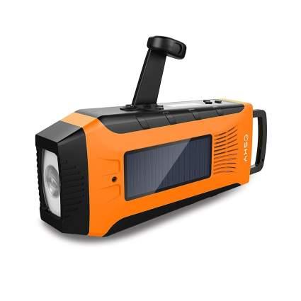 esky, emergency radio, solar radio, crank radio