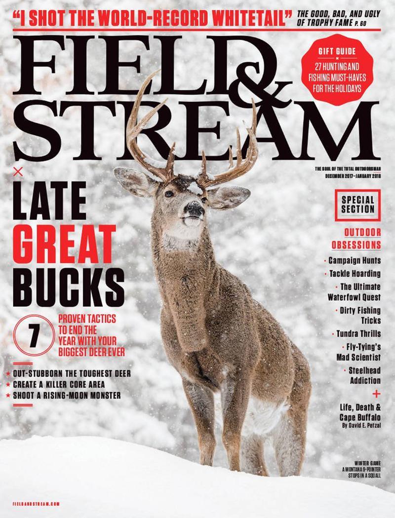 field & stream, hunting, fishing, magazine, christmas gift