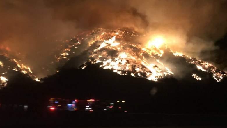 405 fire