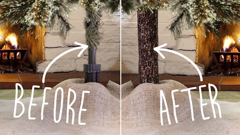 fix the fake, tree stand, tree cover