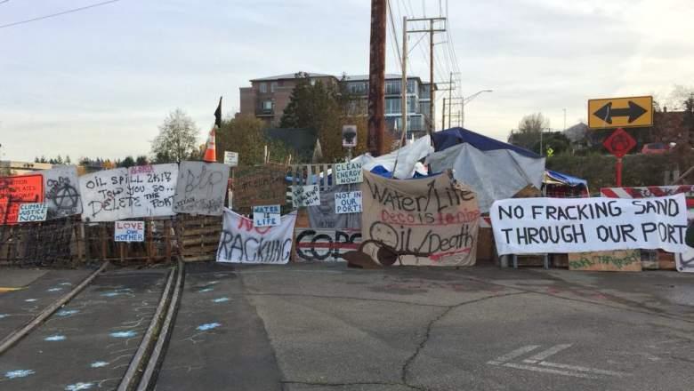 olympia blockade