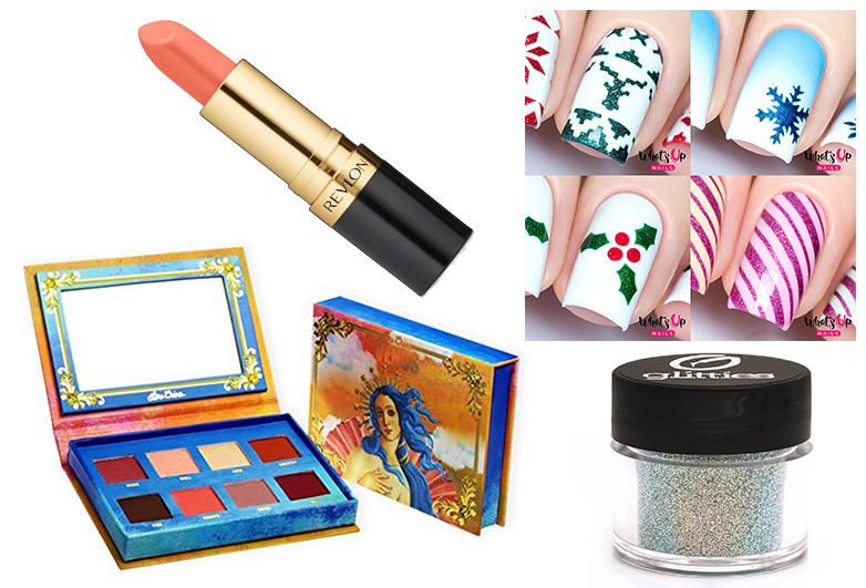christmas makeup ideas, christmas makeup, christmas eye makeup, holiday makeup