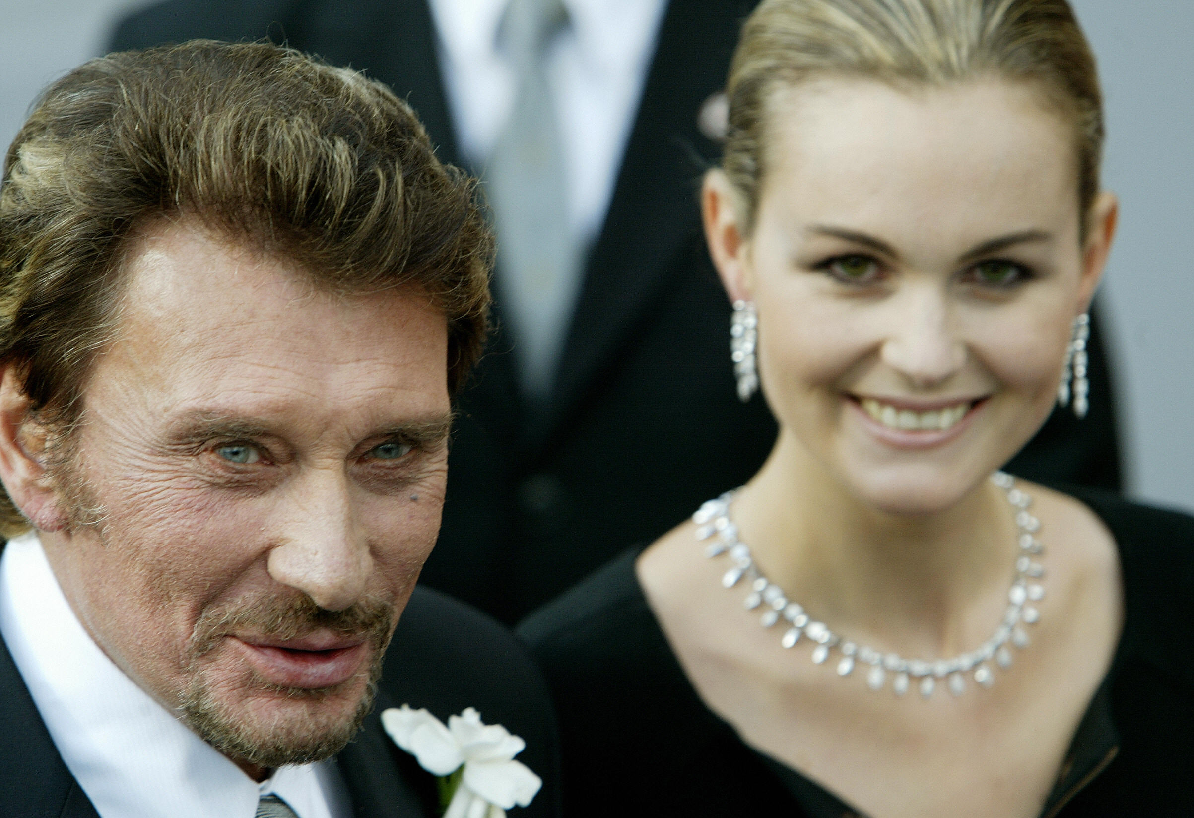 Johnny Hallyday Wife Laeticia