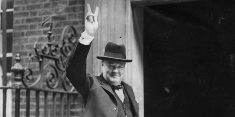 winston churchill, winston churchill victory sign, churchill victory sign