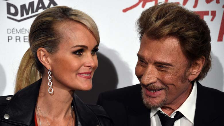 Laeticia Hallyday, Johnny's Wife