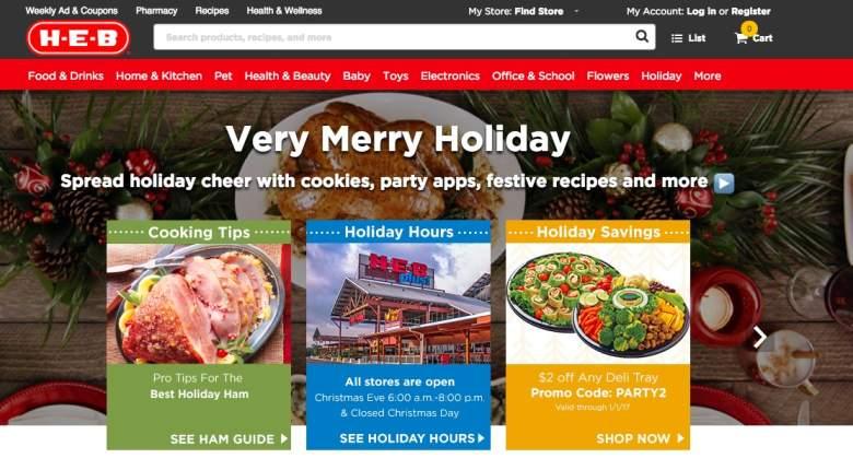 Heb Hours Christmas Eve 2020 HEB Hours on Christmas Eve & Day 2017   Heavy.com