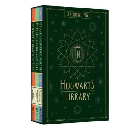 Hogwarts Library (Harry Potter) by J.K. Rowling