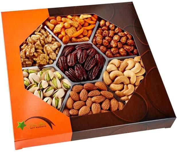 Holiday Gourmet Nut Gift Basket