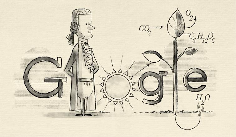 Jan Ingenhousz google doodle, Jan Ingenhousz
