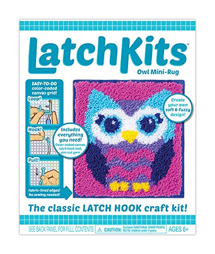 Kahootz Latch Hook Kit - Owl