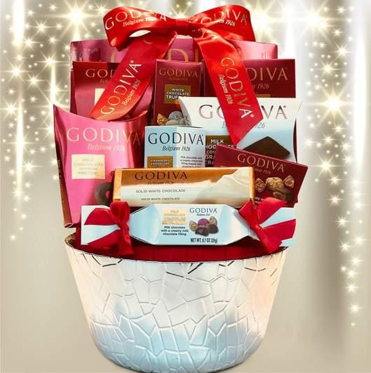 LA Signature Godiva Chocolatier Gift Basket
