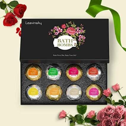 LEAVINSKY Bath Bombs Gift Set