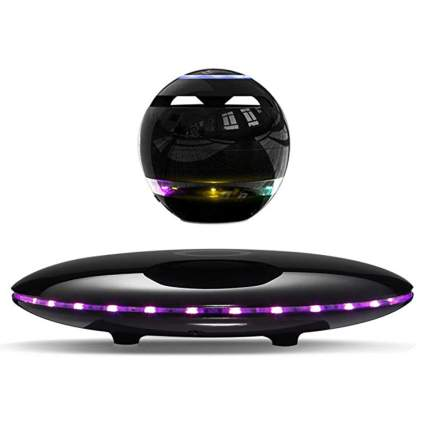 levitating orb bluetooth speaker