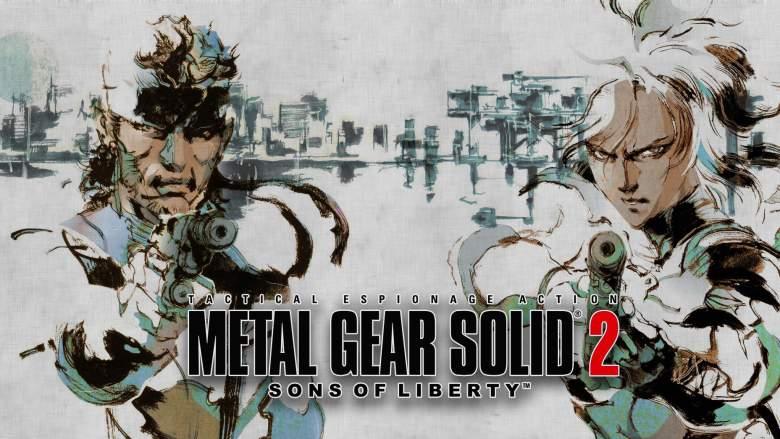 Metal Gear Solid 2 Hideo Kojima