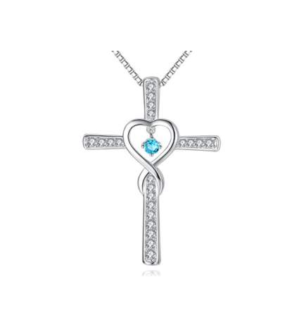 christian christmas gifts, religious christmas gifts, cross necklace