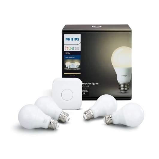 Philips Hue White Smart Bulb Starter Kit