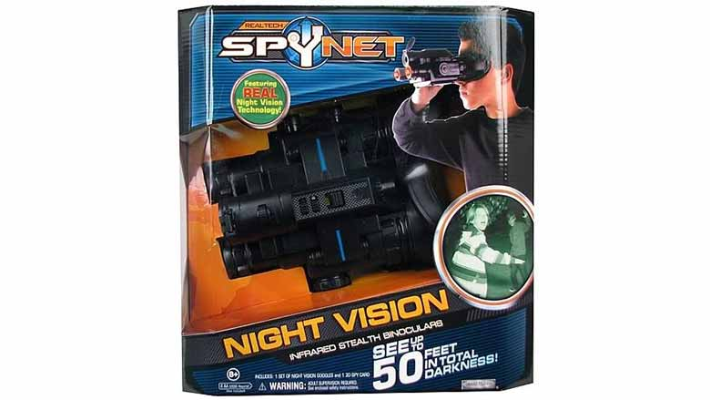 Spy-Net Infrared Stealth Binoculars with Night Vision