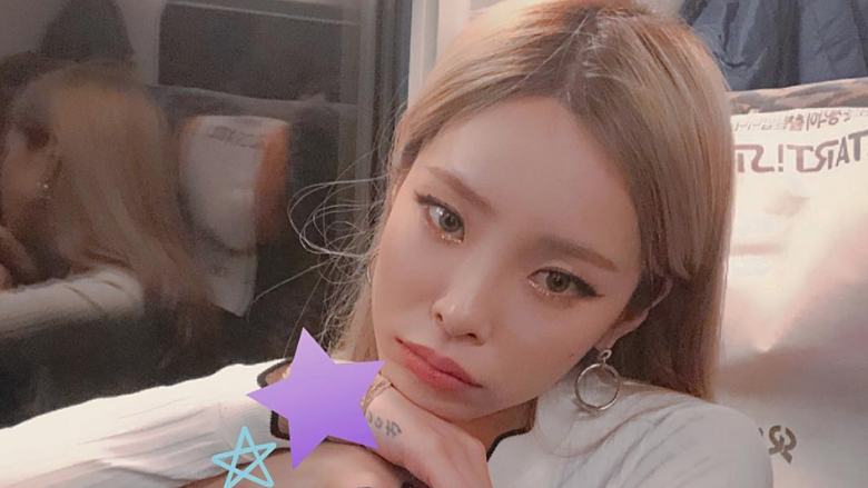 Heize collapses